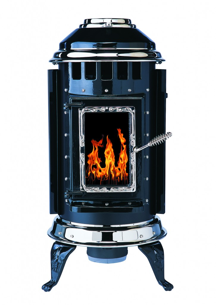 parlour pellet stove from thelin hearth products. Black Bedroom Furniture Sets. Home Design Ideas