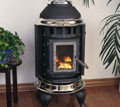 Providence pellet insert from thelin hearth products - Small space wood stove model ...