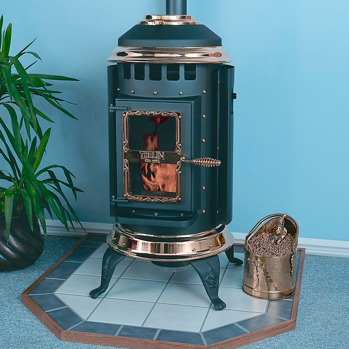 How do you hook up a pellet stove