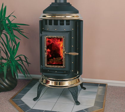 Parlour Pellet Stove From Thelin Hearth Products